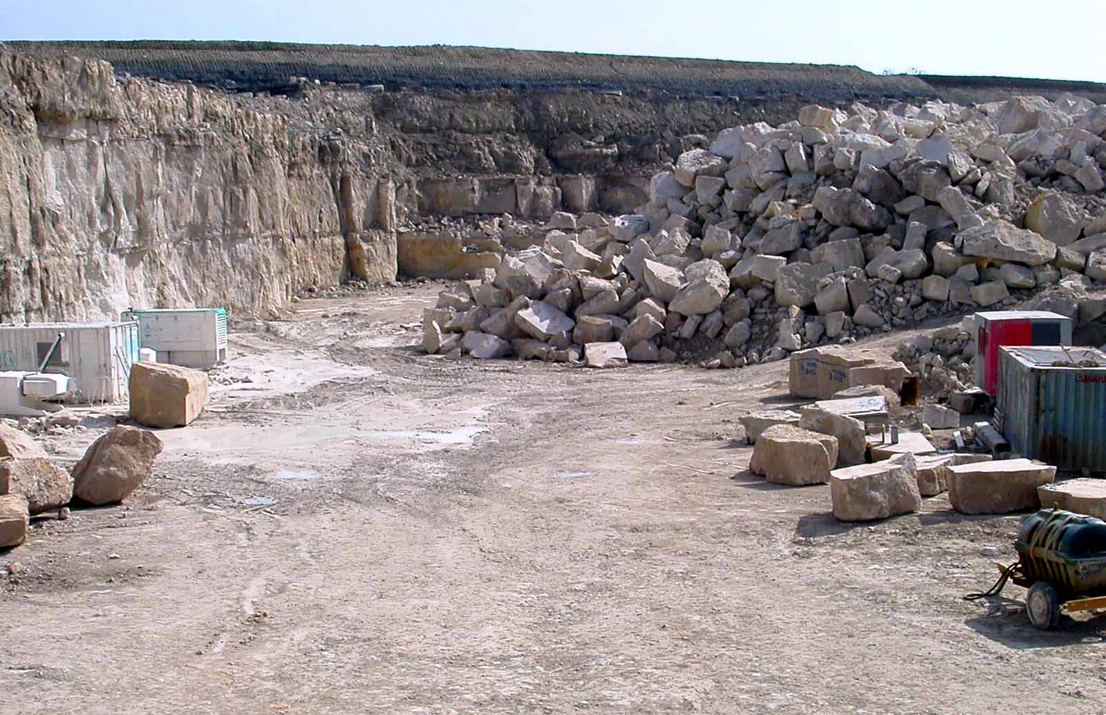 Quarry and mining